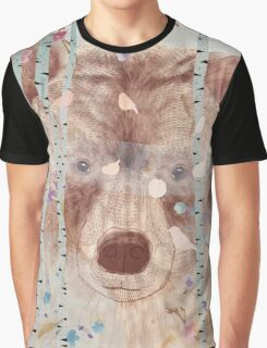 The bear in the forest Graphic T-Shirt