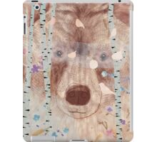 The bear in the forest iPad Case/Skin