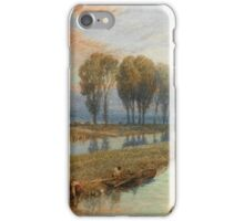 Myles Birket Foster  REED GATHERERS iPhone Case/Skin