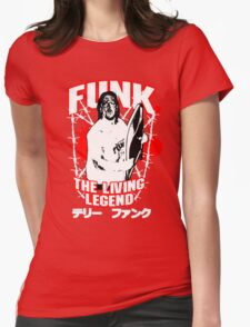 Terry Funk T - Shirt v3 Womens Fitted T-Shirt