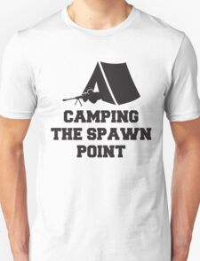Camping The Spawn Point Unisex T-Shirt