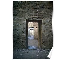 Serial rooms, Pueblo Bonito Poster