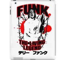 Terry Funk T - Shirt v3 iPad Case/Skin