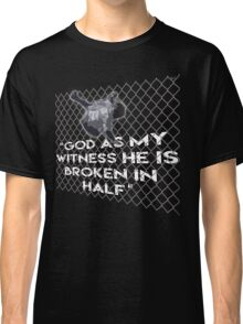 WWF Mankind Hell in a Cell t shirt, King of the Ring Classic T-Shirt