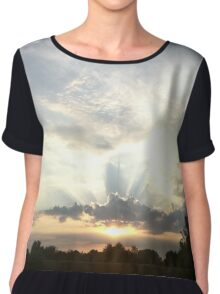 Fog lights from the Mothership Chiffon Top