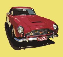 Aston Martin DB5 1964 Kids Tee