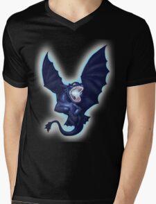 Lightning and Death Mens V-Neck T-Shirt