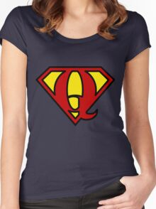 Super QGIS Women's Fitted Scoop T-Shirt