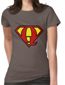 Super QGIS Womens Fitted T-Shirt