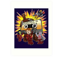 Everything Is Awesome Mix Art Print