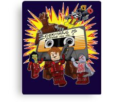 Everything Is Awesome Mix Canvas Print