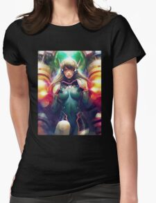 OVERWATCH D. VA Womens Fitted T-Shirt