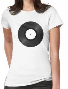 Vinyl - Classic design Womens Fitted T-Shirt