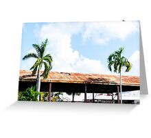 Rusted Roof Greeting Card