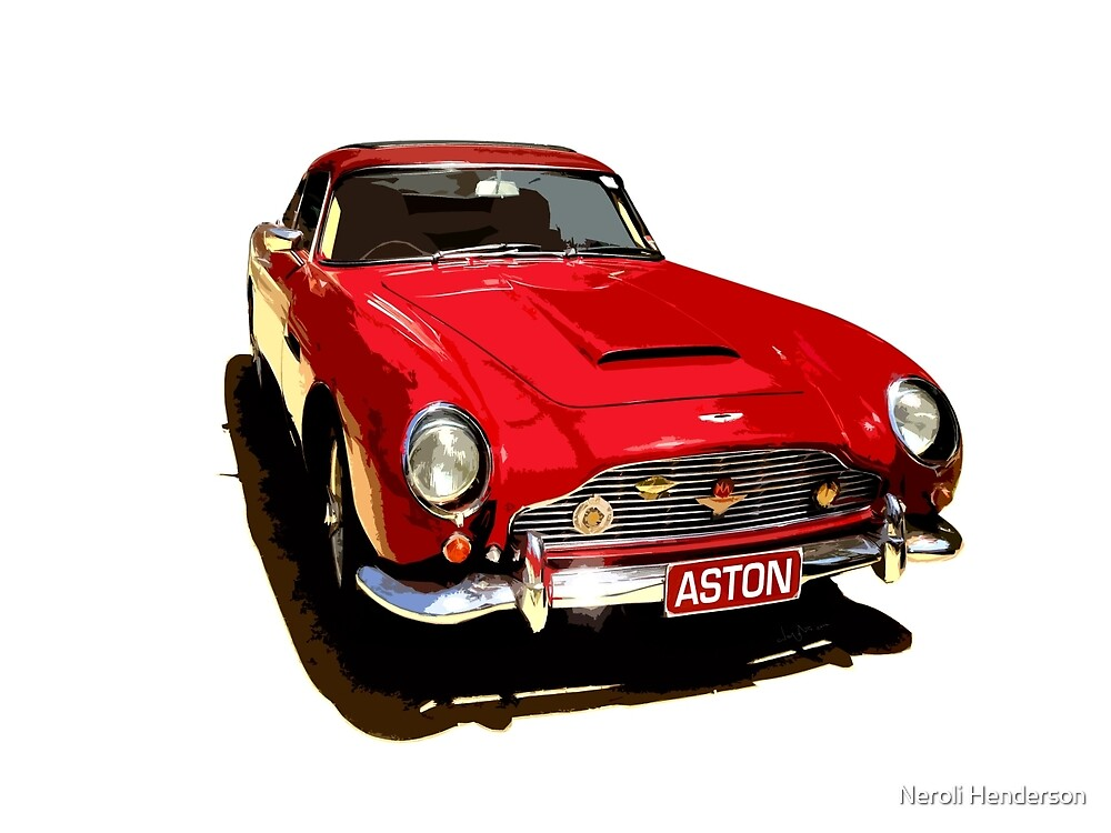Aston Martin DB5 1964 by Neroli Henderson