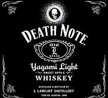 Death Note / Jack Daniels by Daniel J. Carville