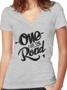 XTheRoad Women's Fitted V-Neck T-Shirt