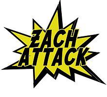 ZACH ATTACK by tatiananori