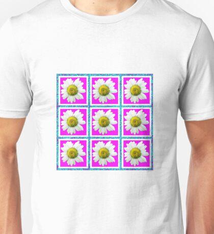 Daisies and Blocks Unisex T-Shirt