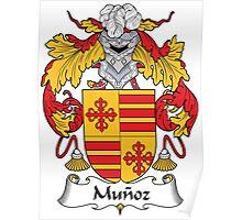 Munoz Coat of Arms I (Spanish) Poster