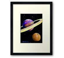 The Fruit of Space Framed Print