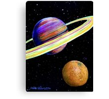 The Fruit of Space Canvas Print