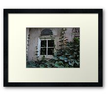 Touched By Green Framed Print