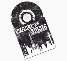 World Of Music Kids Tee