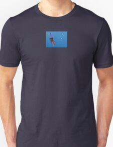 """""""Squizard"""" with bubbles - small design Unisex T-Shirt"""