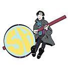 Sherlock Holmes by kateandtheworld