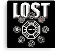 Lost TV Series Canvas Print