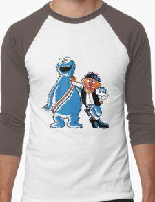 Scruffy Looking Smuggers Men's Baseball ¾ T-Shirt