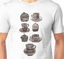 Time for tea (cups & cakes set) Unisex T-Shirt