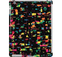 Playful colorful abstraction iPad Case/Skin