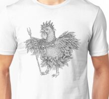 Tribal Shaman Rooster Unisex T-Shirt
