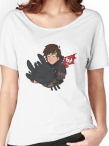 Hiccup and Toothless Women's Relaxed Fit T-Shirt