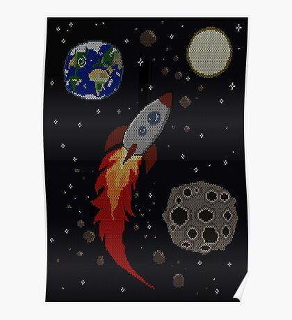 Space Knit Poster