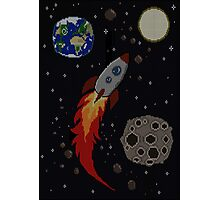 Space Knit Photographic Print