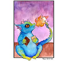 S'more Dragon Photographic Print