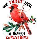 We Tweet you a merry christmas by artonwear