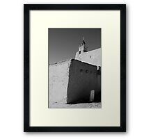 Church - Las Trampas NM Framed Print