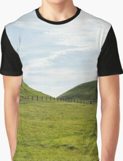 Flowing Fields Graphic T-Shirt