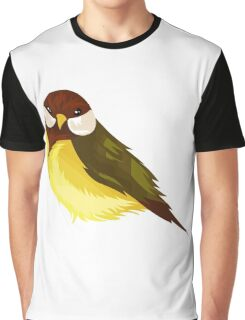 Small Cute Exotic Bird Species Graphic T-Shirt