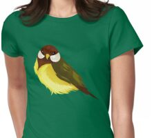 Small Cute Exotic Bird Species Womens Fitted T-Shirt