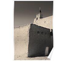Church - Las Trampas NM Toned Poster