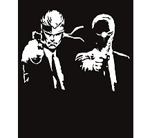 Metal Gear Fiction (Pulp Gear Solid) Photographic Print