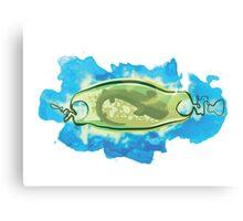 Shark Egg Case Canvas Print