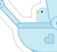 Mother Bird - Baby Stroller Sticker