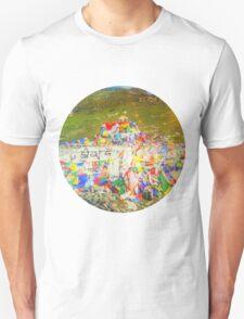 Tibet Flags Mountaintop Unisex T-Shirt