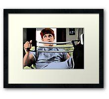 80's Heartthrob BRAND The Goonies Josh Brolin Framed Print